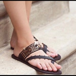 Free People slip on Charmer Sandals